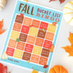 The Best Fall Family Bucket List Ideas (+ Free Printable Bingo Game!)