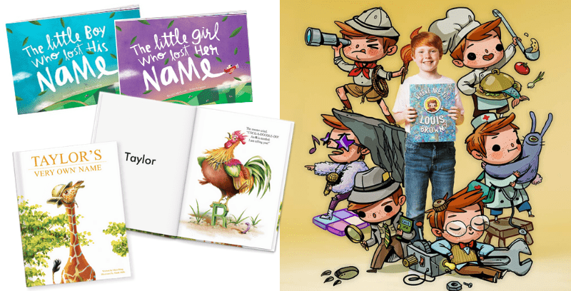 Best Non-Toy Gifts for Kids - Hobbies & Interests - Personalized Books
