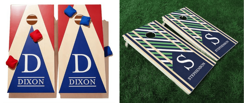 personalized bean bag toss board