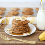 Best Ever Healthy Banana Pancakes