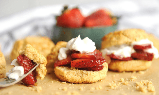 The Best Healthy Paleo Strawberry Shortcake Recipe (Super Easy!)