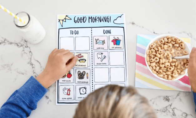 Free Printable Morning Routine Chart For Kids