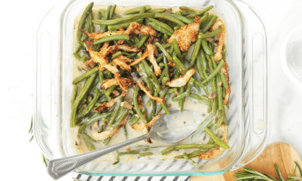 Healthy Green Bean Casserole Recipe – The Perfect Family Side Dish for Thanksgiving