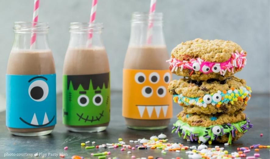 100+ Fun Halloween Recipes For Kids. Ideas For Breakfast, Lunch, Dinner, Dessert + Healthy Snacks!