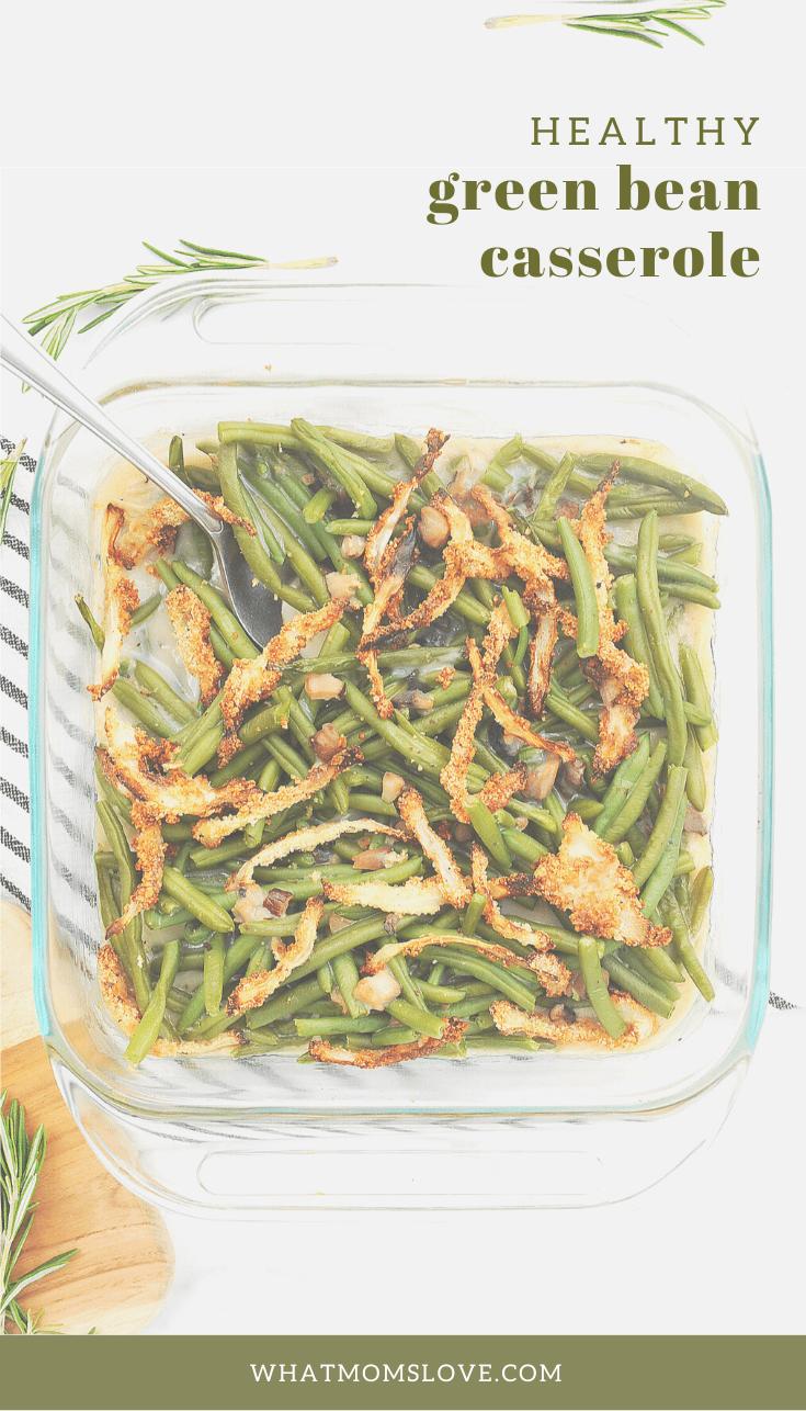 Healthy Green Bean Casserole Recipe