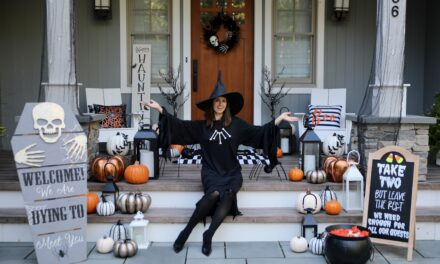 6 Foolproof Ideas for Creating an Epic Halloween Front Porch