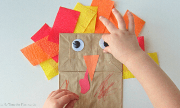 Easy Thanksgiving Crafts for Kids to Make