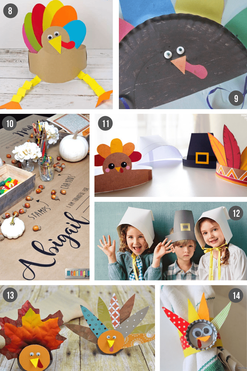 Easy Thanksgiving Crafts For Kids To Make What Moms Love