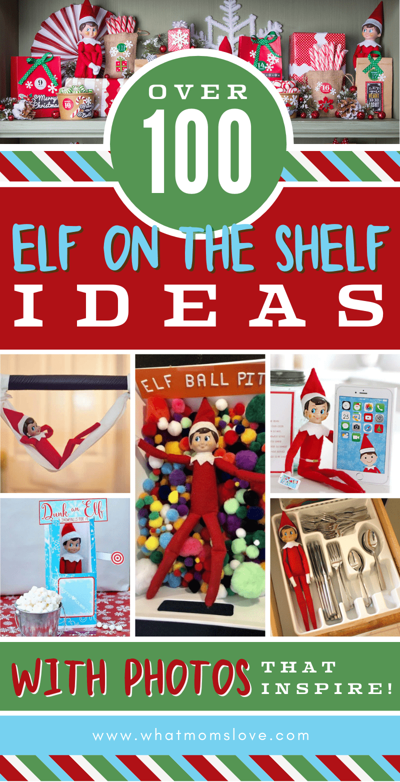 Epic List 100 Best Elf On The Shelf Ideas Funny Easy Clever Sweet