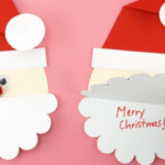 50 Homemade DIY Christmas Cards for Kids To Make