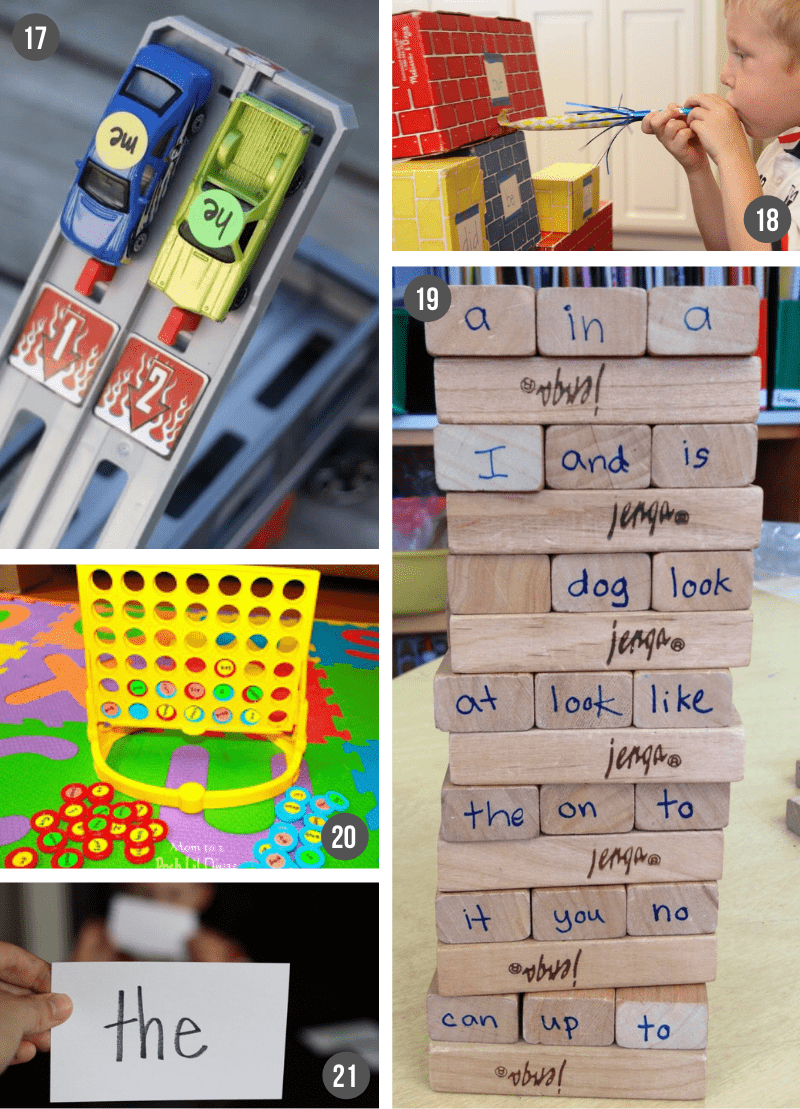 Fun Sight Word Activities | How to teach sight words at home with creative, hands-on games and activities.